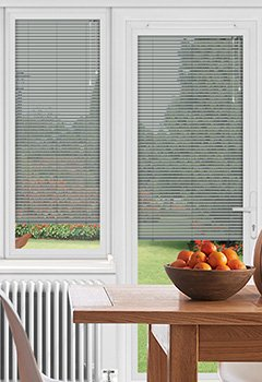 EasyFIT Gloss Grey Conservatory Blind