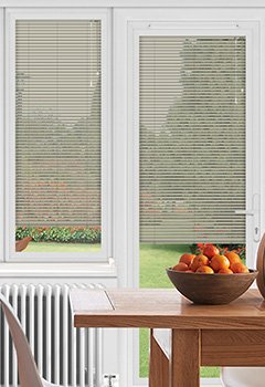 EasyFIT Grained Silver Conservatory Blind