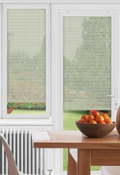 EasyFIT Stone Leather Conservatory Blind