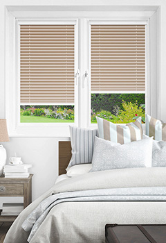 Infusion Asc Beige Intu Pleated Blind