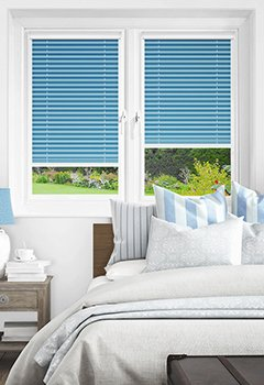 Pale Blue PX4117 Intu Pleated Blind