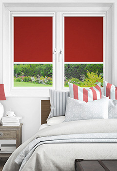 Newlyn Chelsea Red Intu Roller Blind