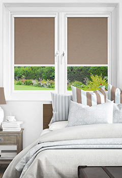 Newlyn Clay Intu Roller Blind