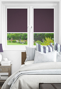Newlyn Purple Intu Roller Blind