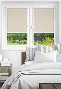 Newlyn Birch Intu Roller Blind