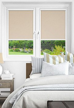 Newlyn Papaya Intu Roller Blind