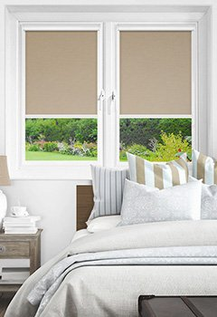 Newlyn Taupe Intu Roller Blind