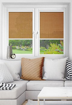 Wick Maple Intu Roller Blind