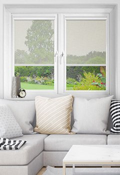Vistaview Grey Intu Roller Blind