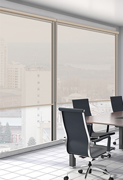ROLTRA Beige Office Blind