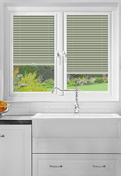 Foxcote Mint Perfect Fit Pleated Blind