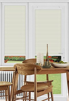 Dunball Beige Perfect Fit Pleated Blind