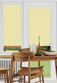 Dunball Lemon Perfect Fit Pleated Blind