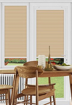 Dunball Peach Perfect Fit Pleated Blind