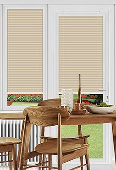 Ogden Beige Perfect Fit Pleated Blind