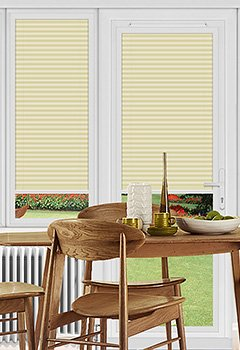 Pallister Cream Perfect Fit Pleated Blind