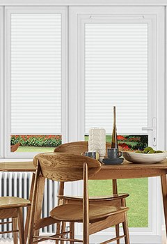 Pallister White Perfect Fit Pleated Blind
