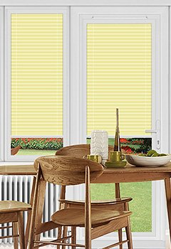 Rosewell Lemon Perfect Fit Pleated Blind