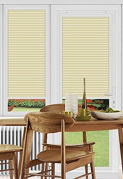 Rosewell Linen Perfect Fit Pleated Blind