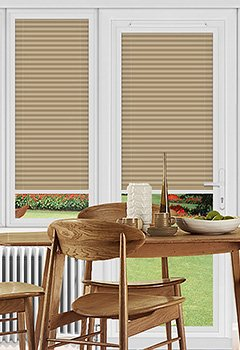 Rosewell Taupe Perfect Fit Pleated Blind