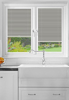 Foxcote Grey Perfect Fit Pleated Blind