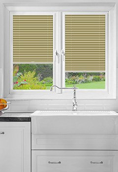 Foxcote Soft Cream Perfect Fit Pleated Blind