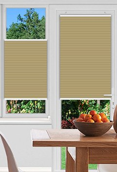 Bagley Cream Pleated Blind