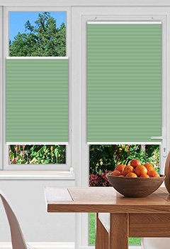 Foxcote Mint Pleated Blind
