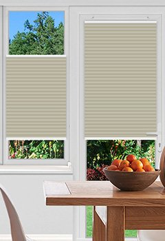 Foxcote Soft Off White Pleated Blind