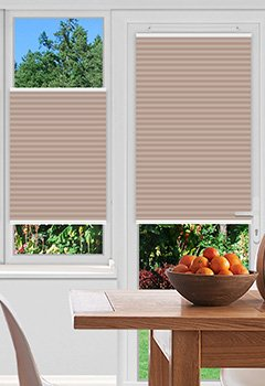 Foxcote Soft Peach Pleated Blind