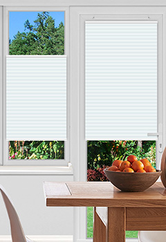 Rosewell Ice Pleated Blind