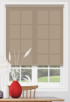 Sale Hessian Roller Blind