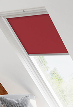 Keylite Red Skylight Blinds For Keylite