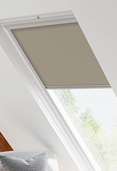 Velux Tan Brown Skylight Blinds For Velux