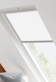 Velux Ultra White Skylight Blinds For Velux
