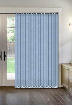 Thermal Blue Vertical Thermal Blind