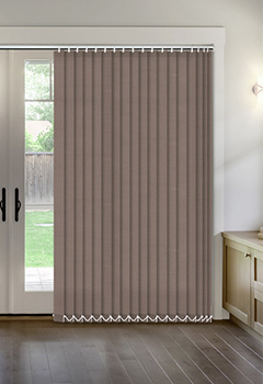 Thermal Brown Vertical Thermal Blind