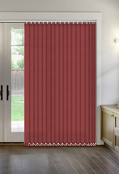 Thermal Cherry Vertical Thermal Blind