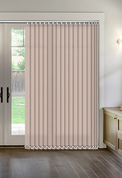 Thermal Dark Beige Vertical Thermal Blind
