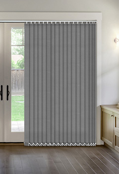 Thermal Grey Vertical Thermal Blind