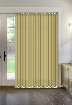 Thermal Muted Gold Vertical Thermal Blind