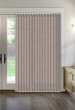 Thermal Taupe Vertical Thermal Blind
