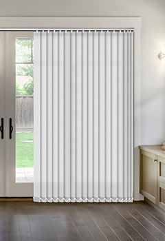 Thermal White Vertical Thermal Blind