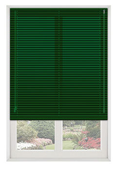 Emerald Pine Green Venetian Blind