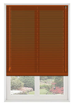 Jazz Terracotta Venetian Blind