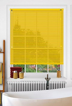 Glam Golden Venetian Blind