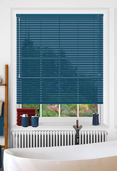Tropic Midnight Blue Venetian Blind