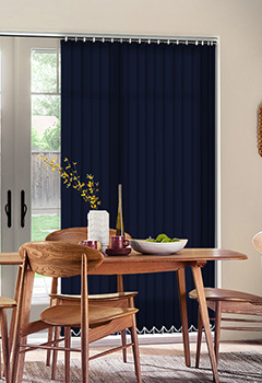 Sale Indigo Vertical Blind
