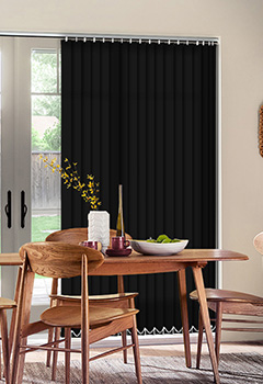 Sale Noir Vertical Blind