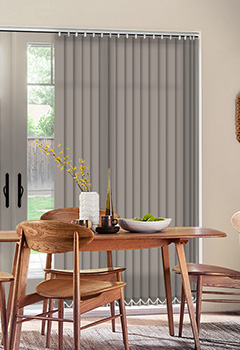 Sale Taupe Vertical Blind